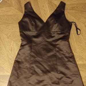 After Six womens plus size 14 brown dress